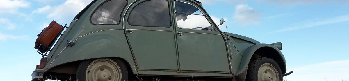 Reizen in onze Citroën 2CV Raid